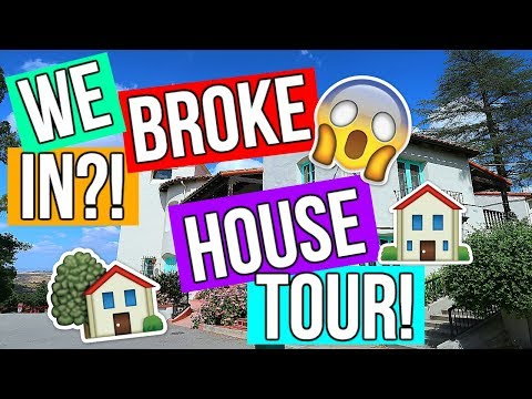 We BROKE IN?! William S. Hart HOUSE TOUR!!