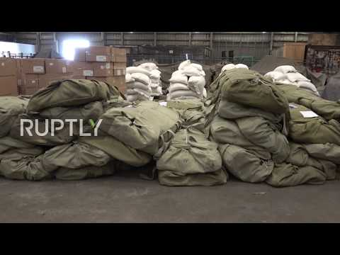 Yemen: Russia delivers tonnes of humanitarian aid to Sana'a