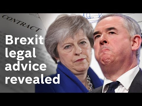 Government publish Brexit legal advice they didn't want you to see