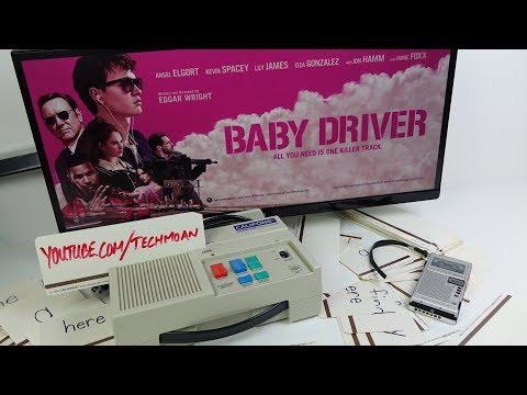 Baby Driver's Tape Scratching Machine