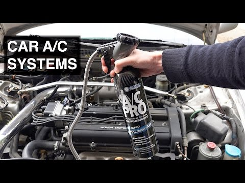 How Your Car's AC Works, and How to Recharge It When It's Dead