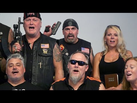 Heart of Fire 'Gun Choir' with Pope Dan Johnson