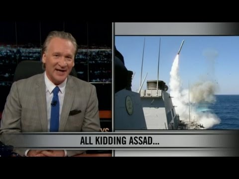 Bombing Syria - Bill Maher New Rules on Bombing Random countries from YouTube · Duration:  4 minutes 41 seconds