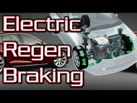 How does Regenerative Braking Work? - Electric car Braking E