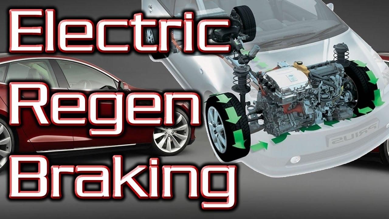 How does Regenerative Braking Work?  Electric car Braking