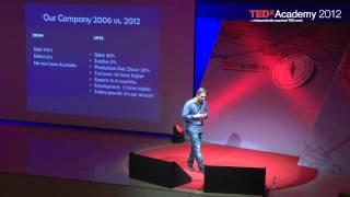 Φτιαγμένο στην Ελλάδα: Γιάννης Ντεληδήμος at TEDxAcademy