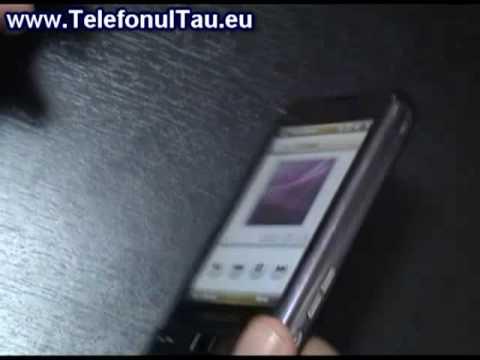 LG GC900 vs Samsung i900 Omnia Audio Test - www.TelefonulTau.eu -