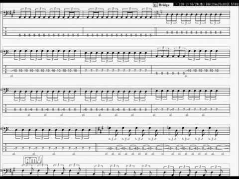 ミスチル NOT FOUND ベースTAB譜
