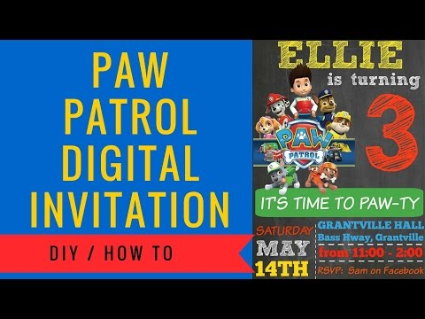 paw-patrol-digital-invitation-how-to-make-|-includes-free-clipart