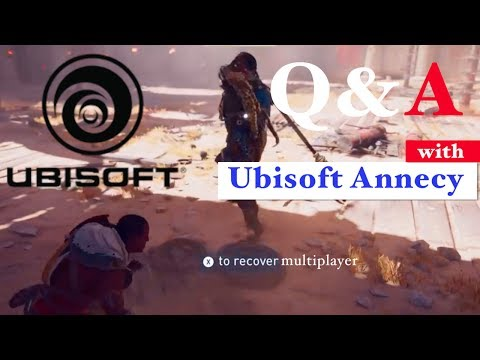 Q&A with Ubisoft Annecy! (Assassin's Creed Origins Has No Multiplayer)