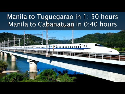 HIGH SPEED RAIL IN THE PHILIPPINES - Cagayan High Speed Rail (FULL ALIGNMENT)
