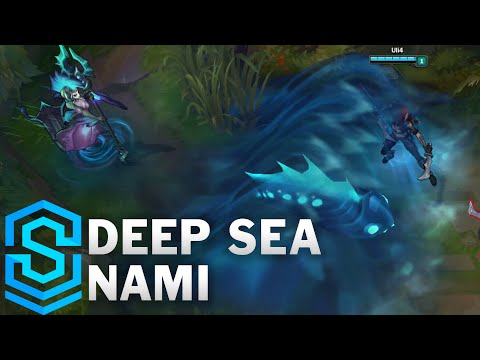 Deep Sea Nami Skin Spotlight - Pre-Release - League of Legends
