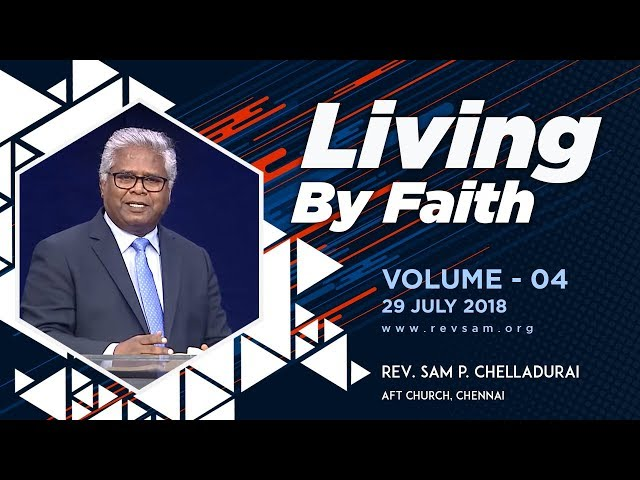 Living by Faith (Vol 04) - The Importance of your Faith