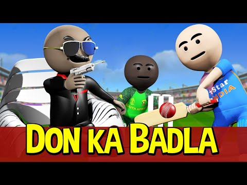 3D ANIM COMEDY – CRICKET || INDIA vs PAKISTAN || LAST OVER