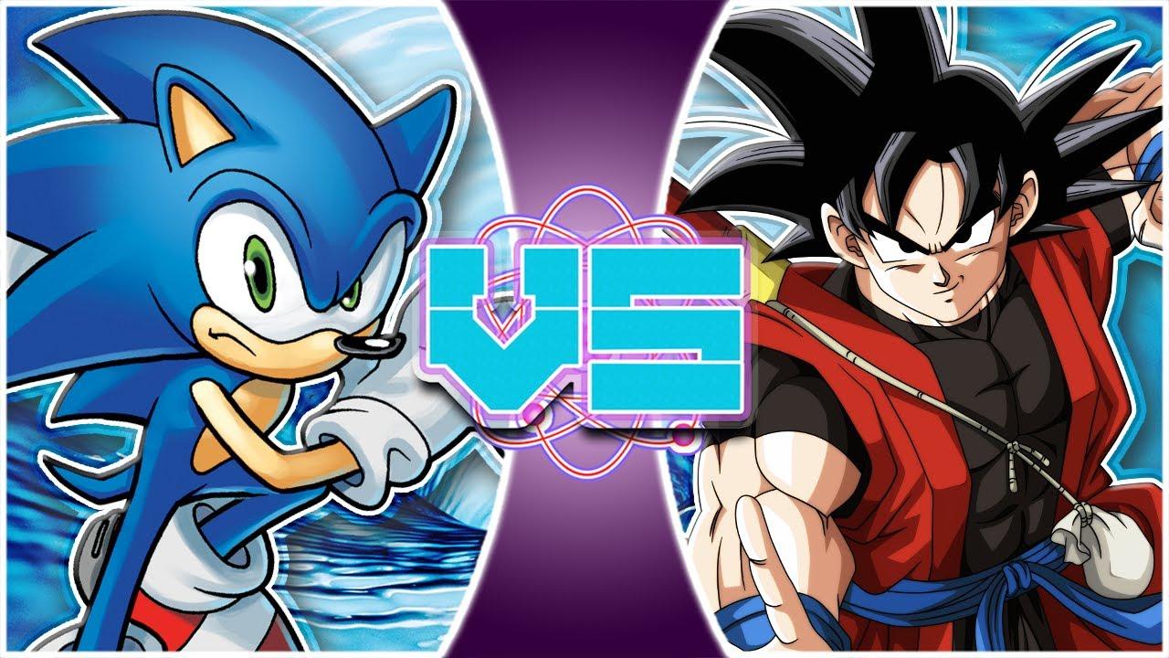 ARCHIE SONIC vs XENO GOKU! (Sonic The Hedgehog vs Super Dragon Ball Heroes) | REWIND RUMBLE
