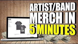 Start Selling Merch Online In Under 5 Minutes | TeeSpring + Shopify + Discmakers + Amazon FBA
