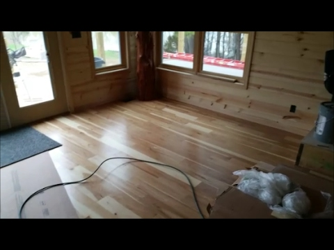 Dream Country Home Build Update; Gutters, Hickory stairs/floors and more