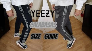 SIZING UPDATE: ADIDAS YEEZY CALABASAS PANTS LUNA/INK/WOLVES UNBOXING Mp3