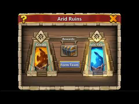 Castle Clash Arid Ruins - Free To Play - F2P