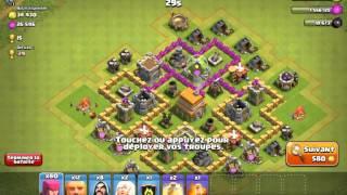 Clash of Clans#4 ressources de fou + butin bonus