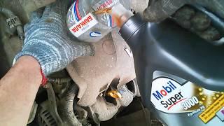 кАК ЗАМЕНИТЬ масла в двигателе Toyota Succeed/Probox ОБЗОР ОТ ГЛАЗ