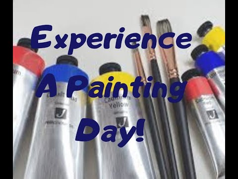 Experience a Painting Day!