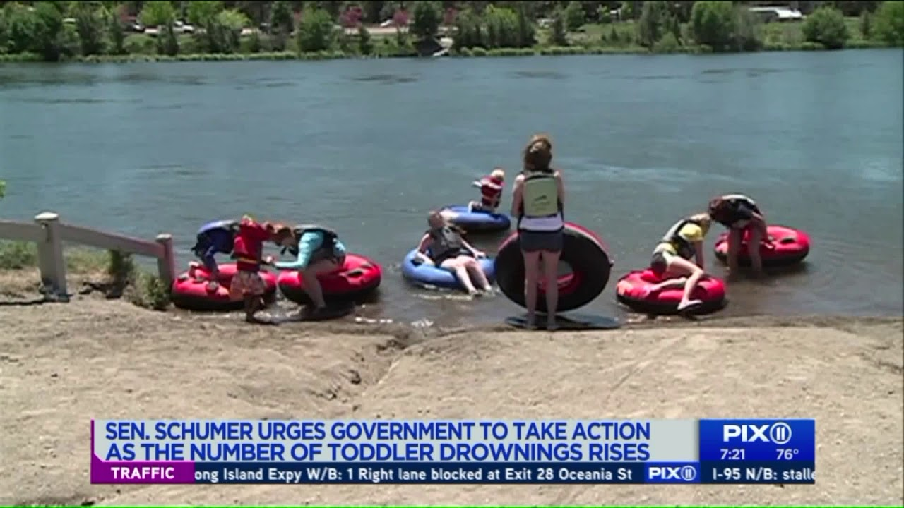 Schumer calls for action as number of toddler drownings rise