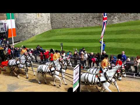 Irish President State Visit to the UK - The Procession