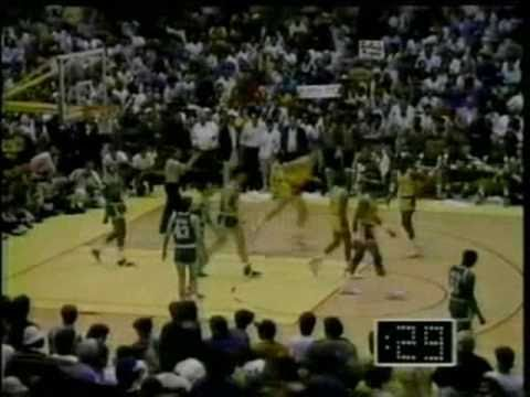 1987 NBA Finals: Celtics at Lakers, Gm 6 part 12/12
