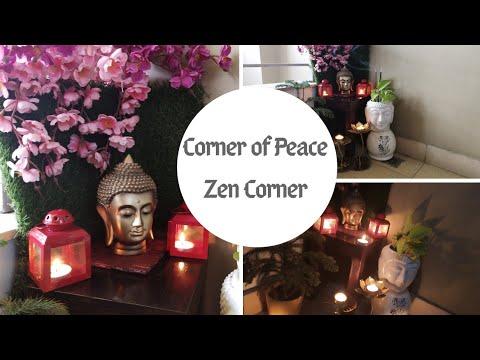 Peaceful Zen Corner | Indian Balcony Corner