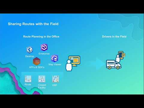 ArcGIS Online: Sharing Preplanned Routes with Navigator