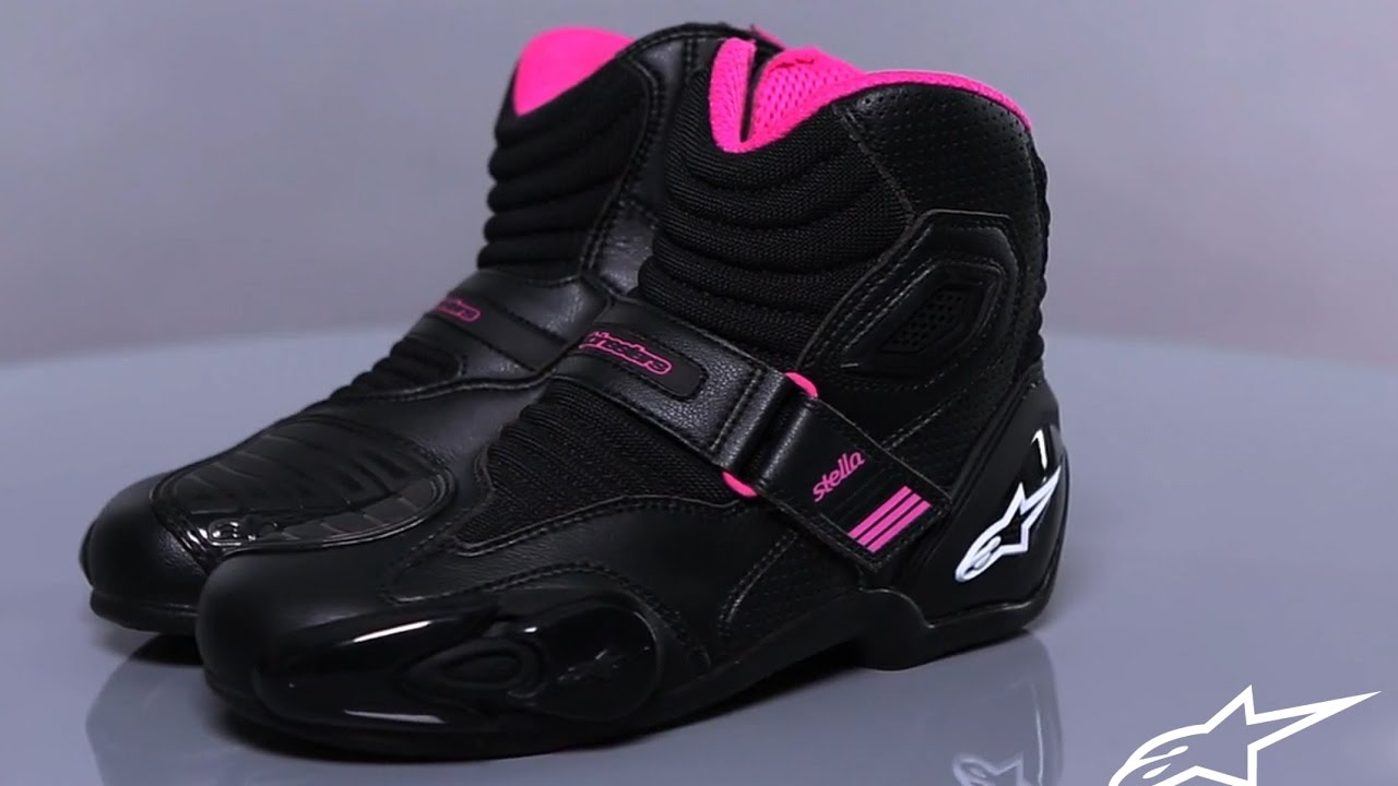 Alpinestars Stella Faster-3 Zapatos de motocicleta para mujer