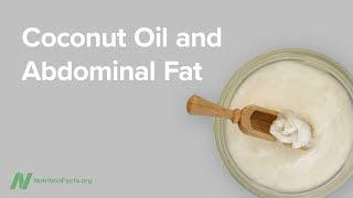 Kokosový olej a břišní tuk