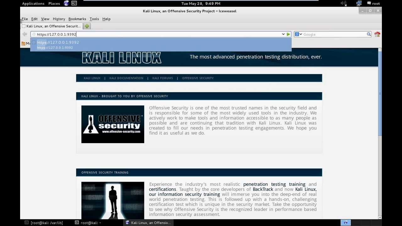Setting up OpenVAS on Kali Linux + Config and Scanning Howto + Free Startup  Script