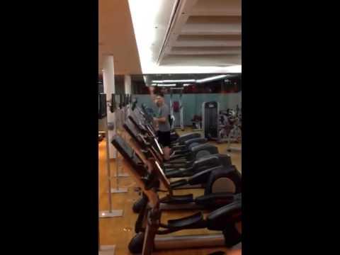 Seoul Millennium Hilton gym