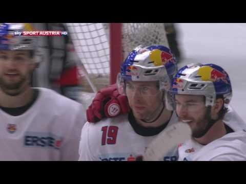 Erste Bank Eishockey Liga, 2. Viertelfinale: Graz 99ers - EC Red Bull Salzburg 1:4