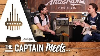 The Captain Meets South African Blues Guitarist Dan Patlansky