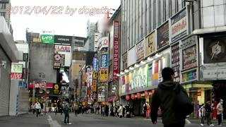 Japan Trip 2012 Tokyo Shinjuku Kabukicho Ichibangai Street Koma Theater