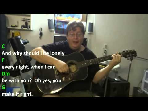 They Don't Know - Kirsty MacColl (Tracey Ullman) - Guitar Chord Practice - Key = C Major