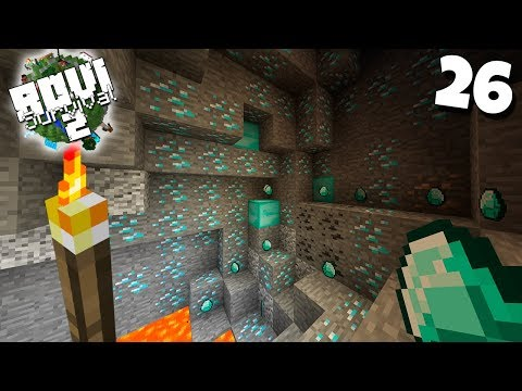 ¿ RECORD DE DIAMANTES EN MINECRAFT ? | Rovi Survival Minecraft 2 | Episodio 26