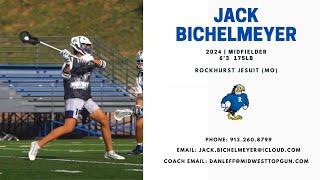 Jack Bichelmeyer 2024 Midfielder Rockhurst HS