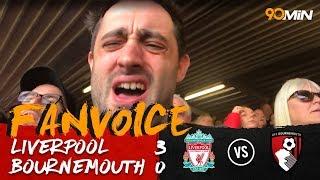 Mane, Salah & Firmino score to beat Bournemouth!   Liverpool 3-0 Bournemouth   90min FanVoice