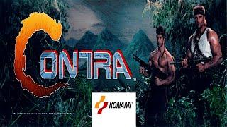 Contra (Arcade/Konami/1987) [720p]