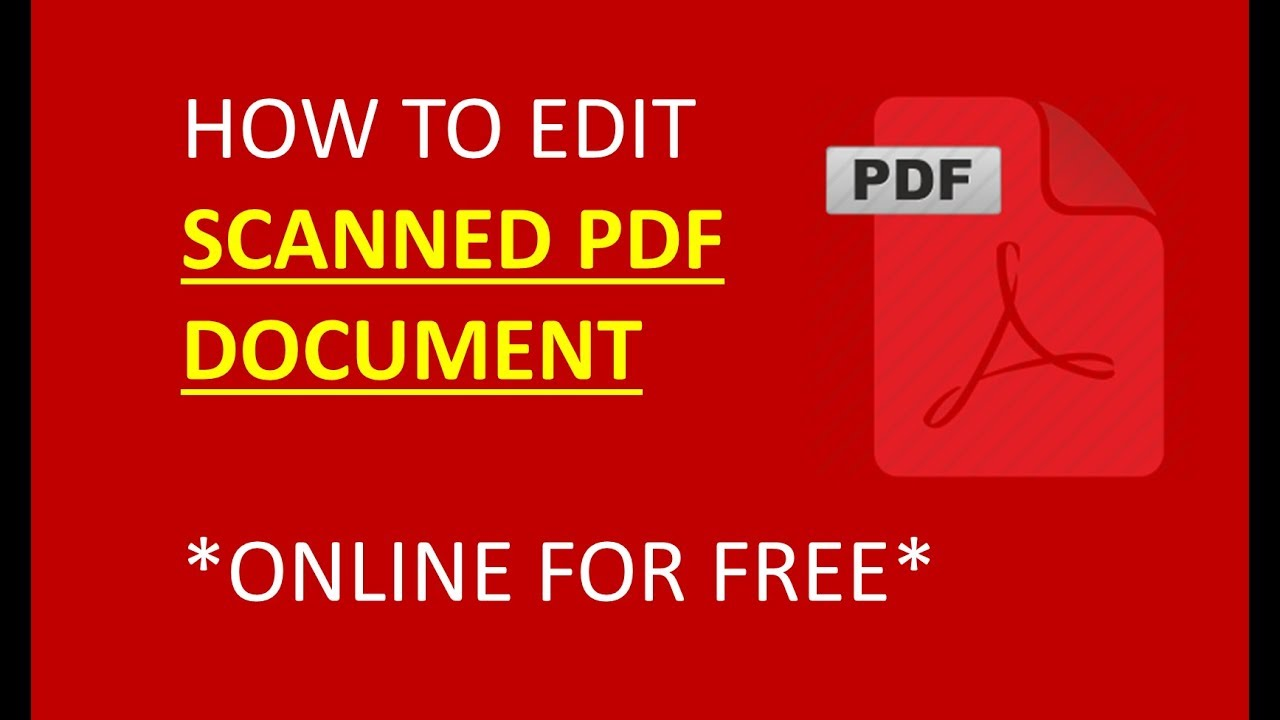 how to edit a pdf file free