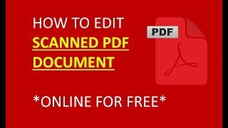 how to edit scanned pdf document, easy and fastest way to edit scanned document online free screenshot 5
