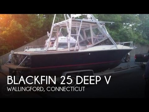 [SOLD] Used 1978 Blackfin 25 Deep V in Old Saybrook, Connecticut