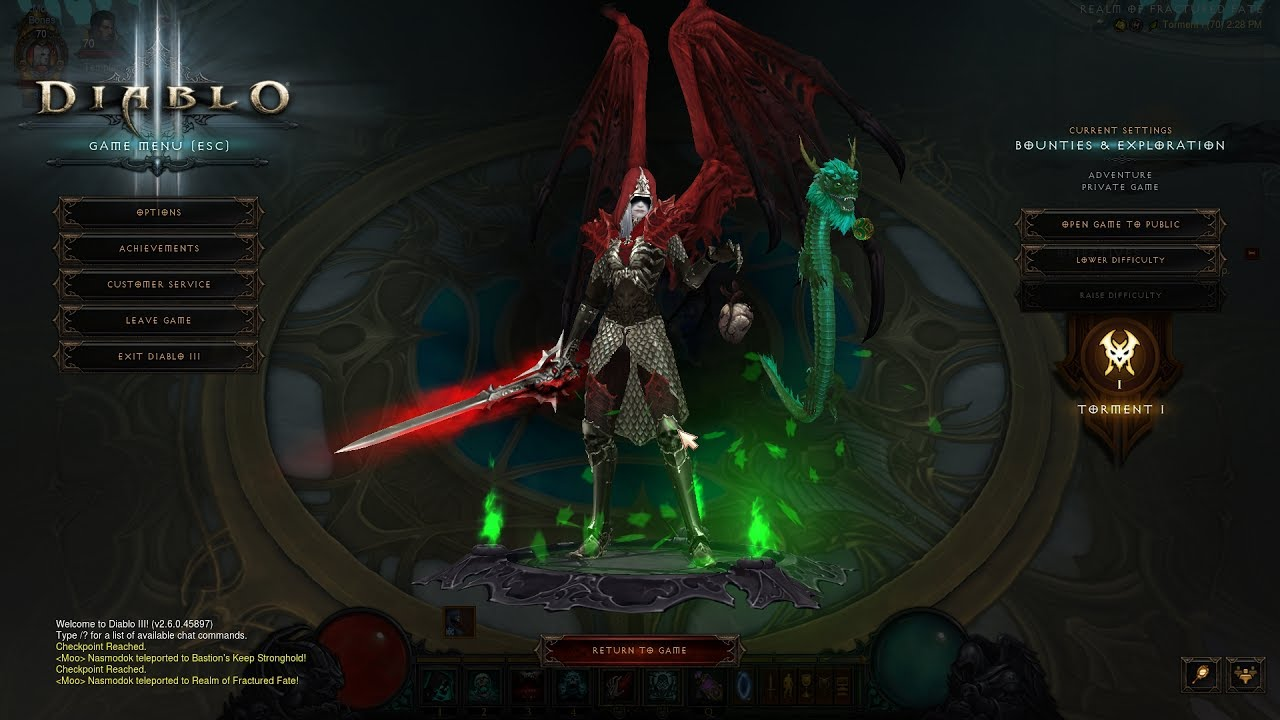 Diablo Necromancer Build Trag Oul Set