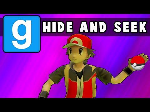 Gmod Hide and Seek - Pokemon Go Edition! (Garrys Mod Funny Moments)