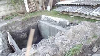 Септик для частного дома при определенных условия постройки.  Часть 1