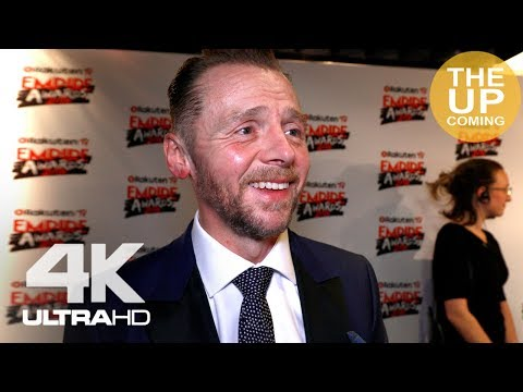 Simon Pegg  on Ready Player One, Mission Impossible Fallout,  Tarantino's Star Trek